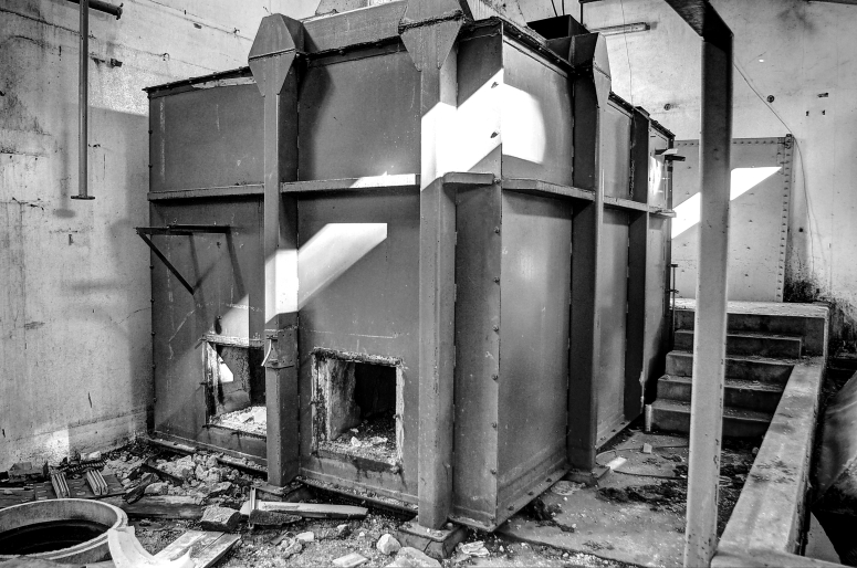 back of furnace