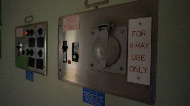 X-Ray machine controls