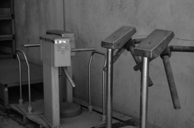 Old turnstiles