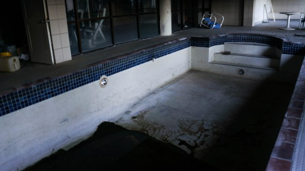 Abandoned Holiday Inn Pool