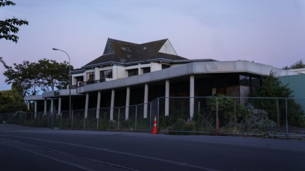 Abandoned Holiday Inn
