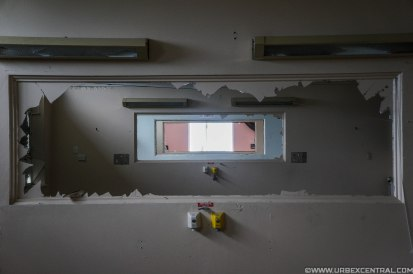 Abandoned South Island New Zealand hospital