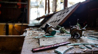 Long Burn Abandoned Derelict Meat Works New Zealand