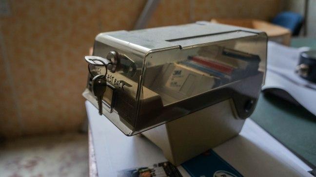 Old floppy disks