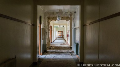 Abandoned Hamner springs hospital, urbex central.com
