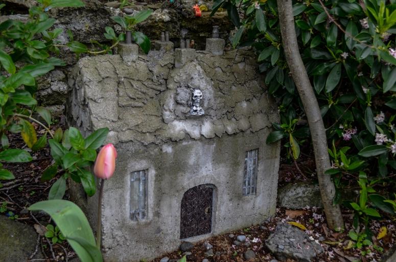 Abandoned miniature village