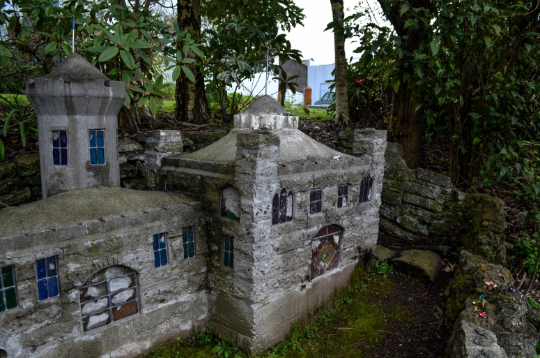 Abandoned miniature village