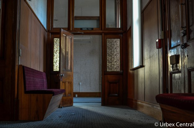 Abandoned New Zealand Courthouse