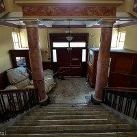 Abandoned Wellington Grandstand